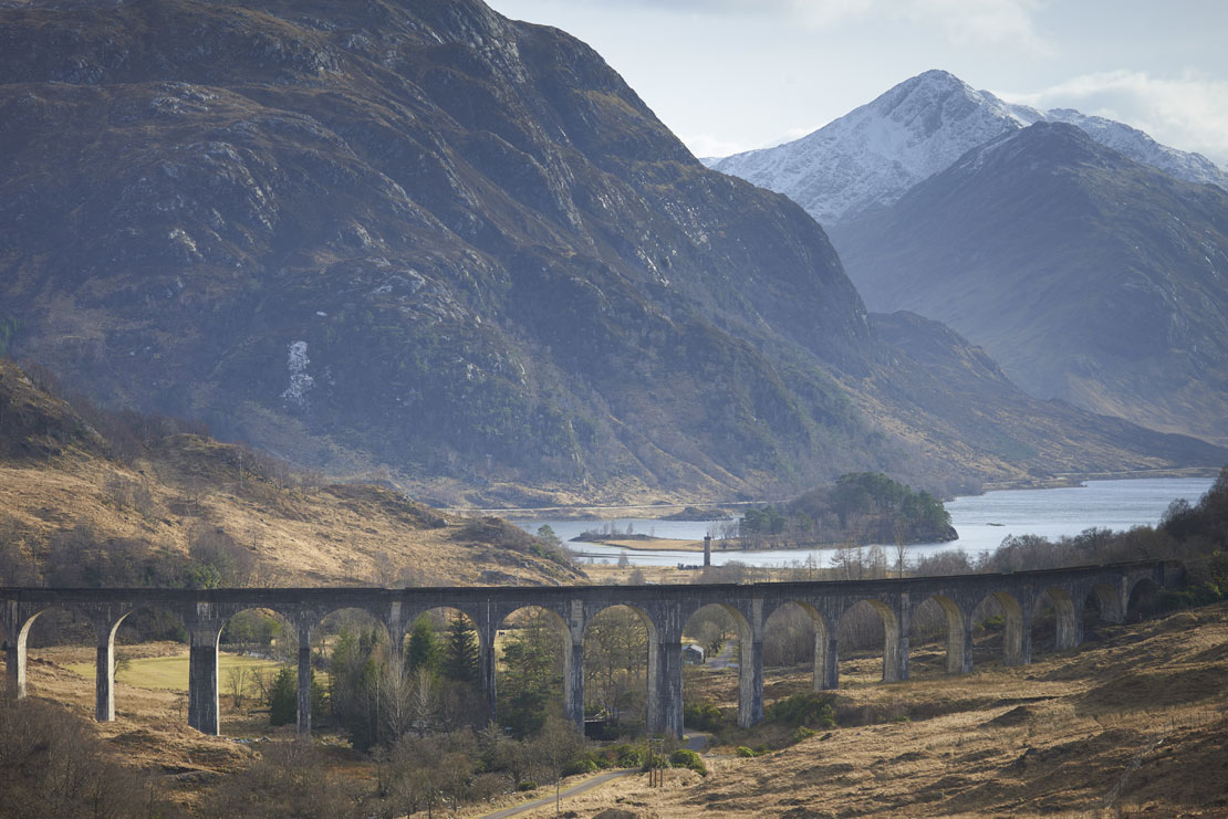 Glenfinnan Viaduct, Highlands, Scotland